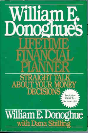Image for William E. Donoghue's Lifetime Financial Planner