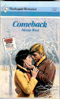 Image for Comeback (Harlequin Romance #2771 06/86)