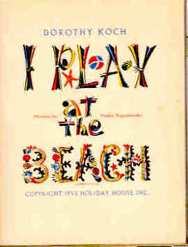 Image for I Play at the Beach