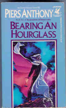 Image for Bearing an Hourglass (Incarnations of Immortality Book 2)