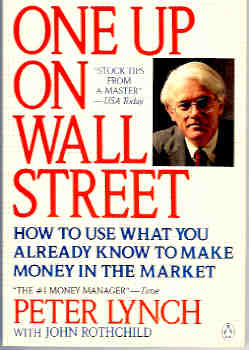 Image for One up on Wall Street : How to Use What You Already Know to Make Money in the Market