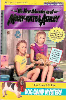 Image for The Case of the Dog Camp Mystery (The New Adventures of Mary-Kate and Ashley Ser.)