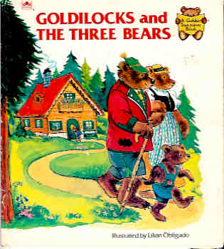 Image for Goldilocks and the Three Bears (Golden Storytime Bks.)
