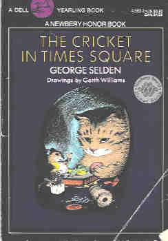 Image for The Cricket in Times Square : All about Animals (Chester Cricket Ser.)
