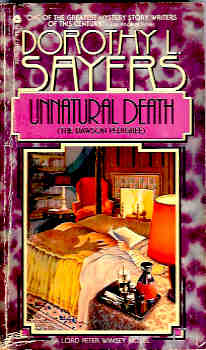 Image for Unnatural Death (Lord Peter Wimsey Mystery Ser.)