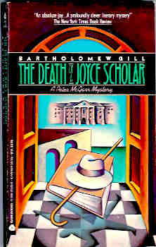Image for The Death of a Joyce Scholar (A Peter McGarr Mystery Ser.)