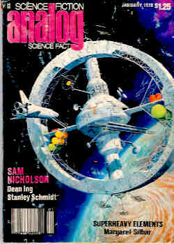 Image for Analog Science Fiction, Science Fact January 1978