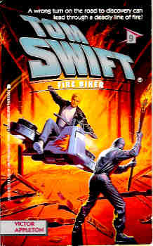 Image for Fire Biker (Tom Swift Series #9)