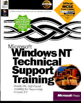 Image for Microsoft Windows NT Technical Support Training (Microsoft Certified Professional Ser.)