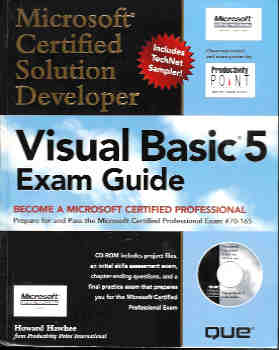 Image for MCSD Visual Basic 5 Exam Guide