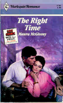 Image for The Right Time (Harlequin Romance #2781 08/86)