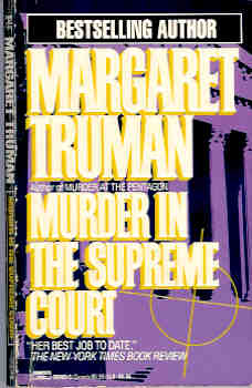 Image for Murder in the Supreme Court (Capital Crime Myteries Ser.)