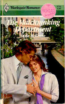 Image for Matchmaking Department (Harlequin Romance #2722 10/85)