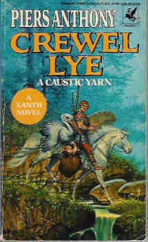Image for Crewel Lye : A Caustic Yarn (Xanth Series #8)