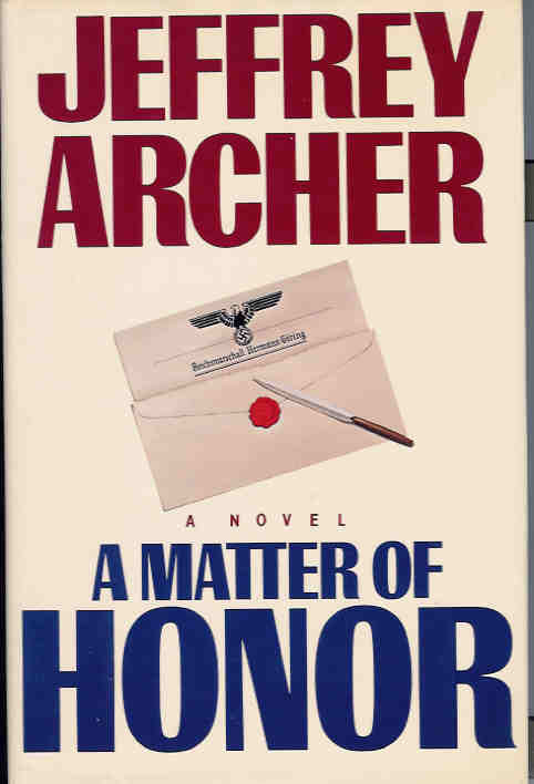 Image for A Matter of Honor
