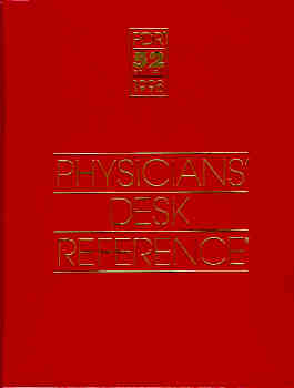 Image for 1998 Physicians' Desk Reference : PDR Library/Hospital Version