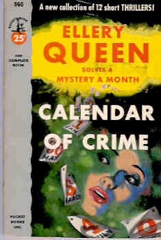 Image for Calendar of Crime