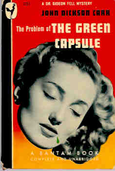 Image for The Problem of the Green Capsule