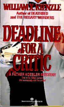 Image for Deadline for a Critic (Father Koesler Mystery Ser., No. 9)