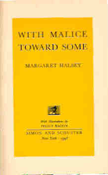 Image for With Malice Toward Some