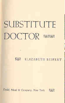 Image for Substitute Doctor