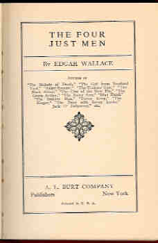 Image for The Four Just Men