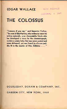 Image for The Colossus
