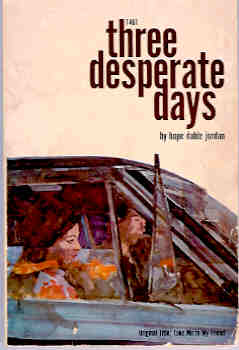 Image for Three Desperate Days