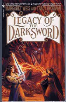 Image for Legacy of the Darksword (Darksword Series #4)