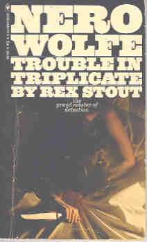Image for Trouble in Triplicate