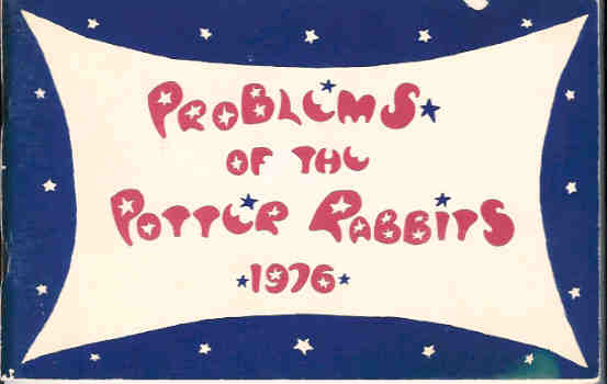 Image for Problems of the Potter Rabbits * 1976
