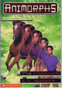 Image for The Unknown (Animorphs Ser., No. 14)