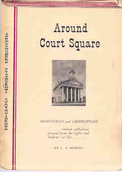 Image for Around Court Square - Meditations and Observations