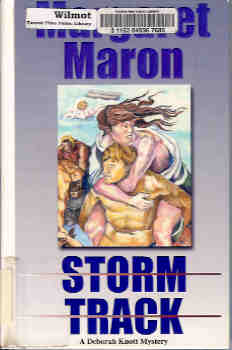 Image for Storm Track (A Deborah Knott Mystery) (Large Print)