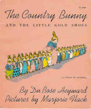 Image for The Country Bunny and the Little Gold Shoes