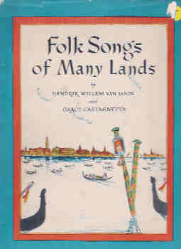 Image for Folk Songs of Many Lands