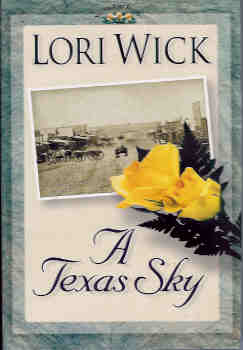 Image for A Texas Sky (Yellow Rose Trilogy - Large Print)