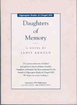 Image for Daughters of Memory: A Novel