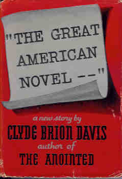 "Image for ""The Great American Novel - - """