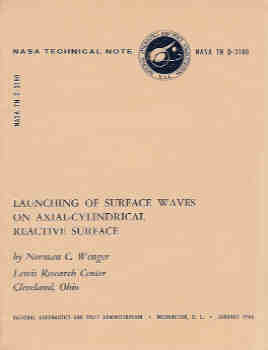 Image for Launching of Surface Waves on Axial-Cylindrical Reactive Surface