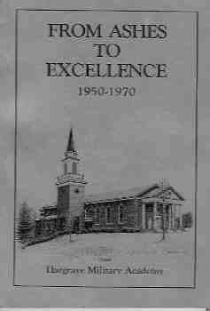 Image for From Ashes to Excellence:  1950 - 1970