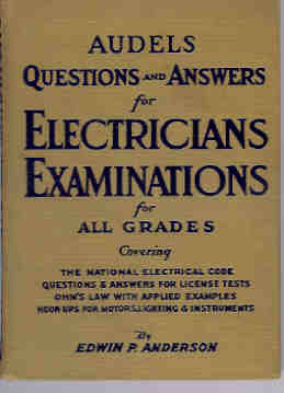 Image for Audels Questions and Answers for Electricians Examinations for All Grades