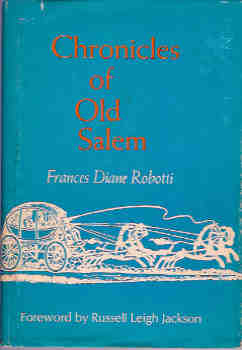 Image for Chronicles of Old Salem