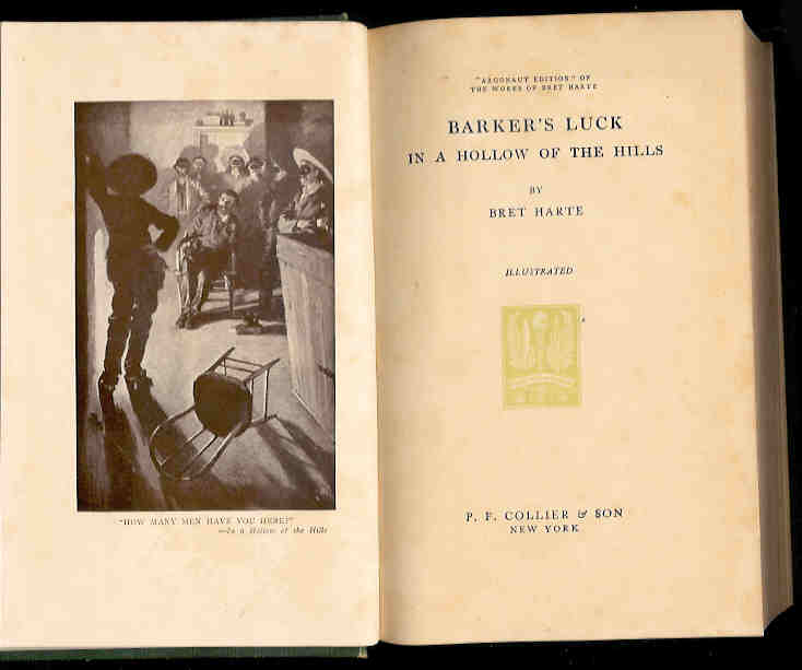 Image for Barker's Luck in a Hollow of the Hills (Argonaut Edition Vol. VI)