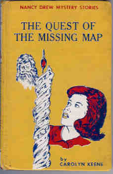 Image for The Quest of the Missing Map (Nancy Drew Mystery #19)