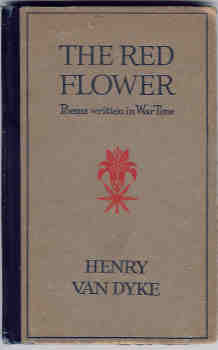 Image for The Red Flower:  Poems Written in War Time