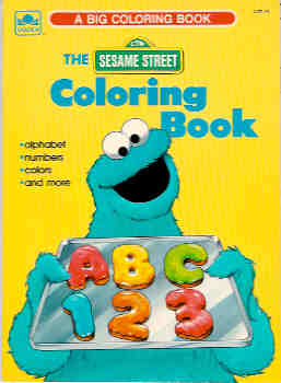 Image for The Sesame Street Coloring Book
