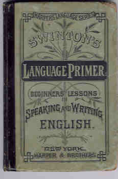 Image for Language Primer:  Beginners' Lessons in Speaking and Writing English