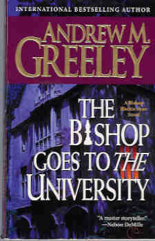 Image for The Bishop Goes to the University: A Blackie Ryan Story