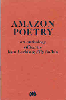 Image for Amazon Poetry:  An Anthology of Lesbian Poetry